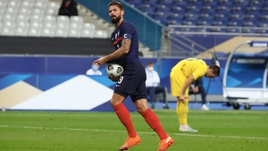 Olivier Giroud now only trails Thierry Henry in the French goalscoring charts