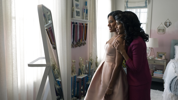 Kerry Washington and Ariana DeBose in The Prom