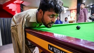 Muhammad Ikram has spent years honing his snooker skills