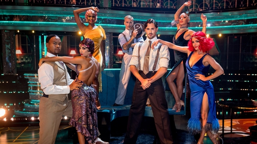Lights, camera, action! It's movie week on Strictly