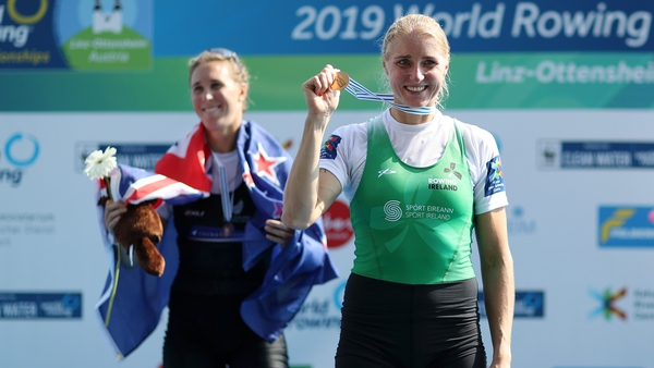 Sanita Puspure struck gold for Ireland in Switzerland last year