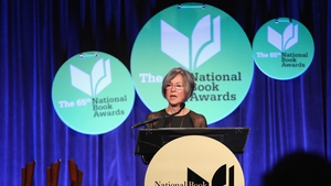 Louise Gluck previously won the Pulitzer Prize in 1993 and the National Book Award in 2014 (Above)