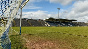 A view of Kingspan Breffni Park ahead of the Allianz Football League match between Cavan and Clare last March