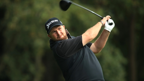Shane Lowry is one off the lead at Wentworth