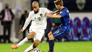 David McGoldrick was one of Ireland's most impressive performers