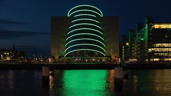 The Dáil will sit in the Convention Centre for two days next week
