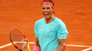 Rafael Nadal registered his 99th win at Roland Garros