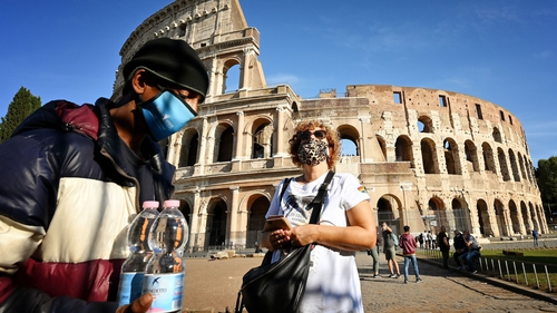 Italy registered 11,705 new coronavirus infections over the past 24 hours