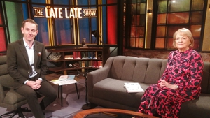 Ryan Tubridy and Kathleen Watkins on Friday's Late Late
