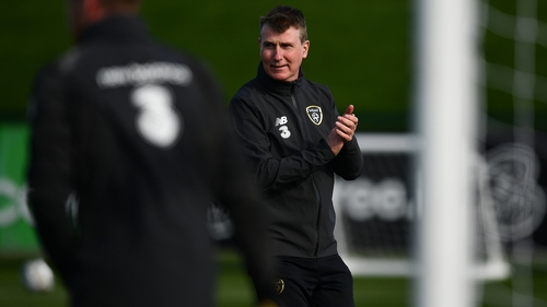 Stephen Kenny said the players are excited ahead of the World Cup qualifying campaign
