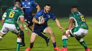 Leinster won at the Stadio di Monigo this afternoon