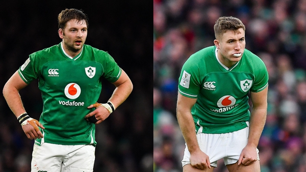 Iain Henderson is facing a potential suspension while Jordan Larmour suffered a shoulder injury against Benetton