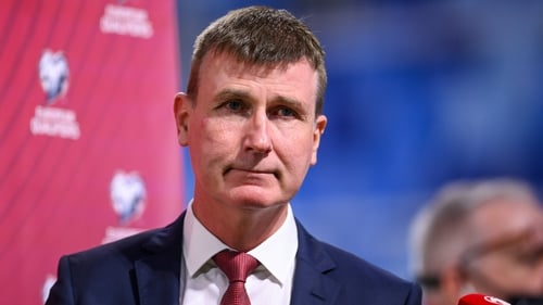 Stephen Kenny said he was unaware of any potential seat swap on the flight to Bratislava at the time as he was at the frotn of the plane