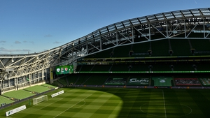 The Aviva Stadium is due to host four Euro 2020 games