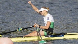 Sanita Puspure put her rivals to the sword in emphatic fashion