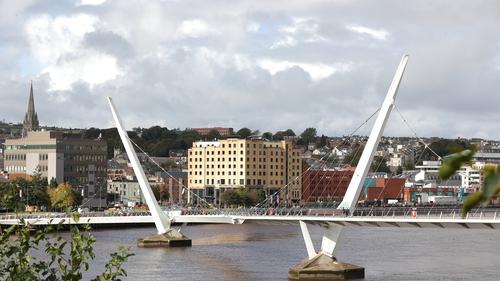 Northern Ireland Secretary Brandon Lewis said the funding is to support and encourage economic development