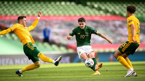 Robbie Brady looks set to take on the number 10 role against Wales