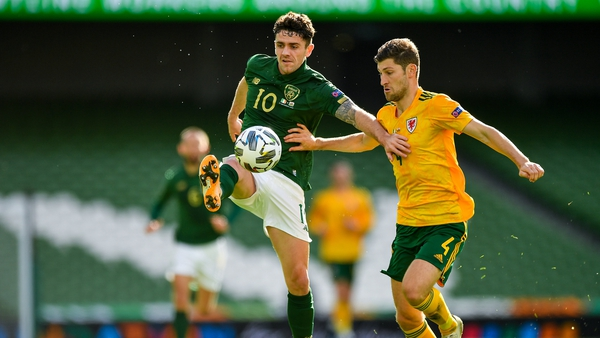 Robbie Brady was one of Irelands most threatening players in a game short of a real cutting edge from both sides