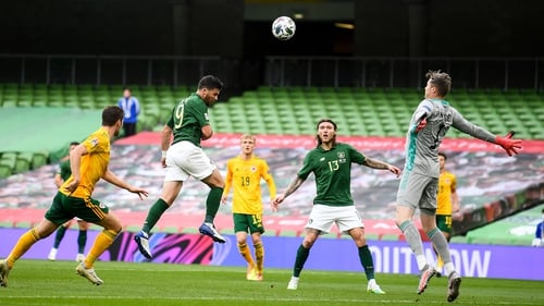Shane Long missed one of Ireland's best chances