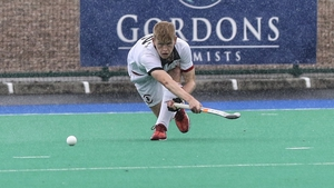 YMCA made it three wins from three after getting the better of Banbridge in wet conditions. Picture credit: YMCA Hockey Club/@YMCAHC