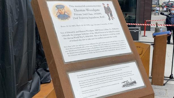 Thomas Joseph Woodgate memorial Kilkenny