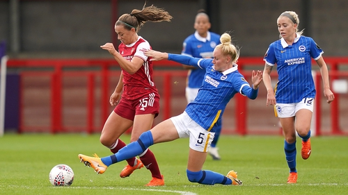 Katie McCabe helped Arsenal to an emphatic win