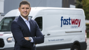 Danny Hughes, CEO of Fastway Couriers