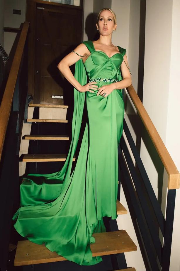 Ellie Goulding (The Green Carpet Fashion Awards 2020/PA)