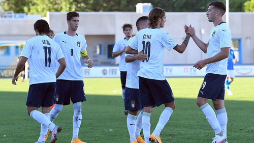 The Italy Under-21 have been replaced almost wholesale