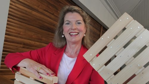Mary Walsh Managing Director of Ire Wel Pallets, Co. Wexford.