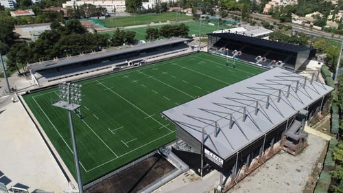 A view of the Stade Maurice-David