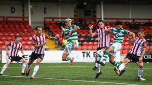 Shamrock Rovers notched a late win over Derry City earlier this year