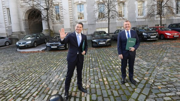Budget 2021 will be delivered by Paschal Donohoe and Michael McGrath
