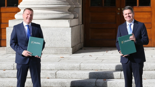 Finance Minister Paschal Donohoe and Public Expenditure and Reform Minister Michael McGrath delivered Budget 2021 yesterday