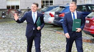 Ministers Paschal Donohoe and Michael McGrath (File: RollingNews.ie)
