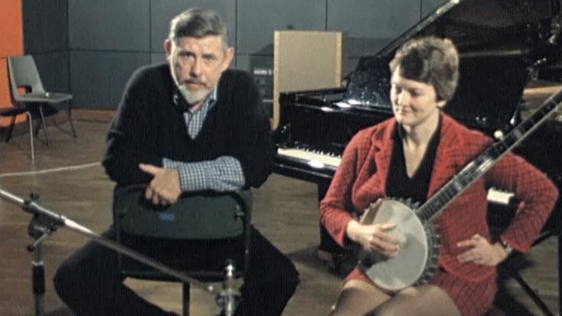 Ewan MacColl and Peggy Seeger on 'First House' in 1975