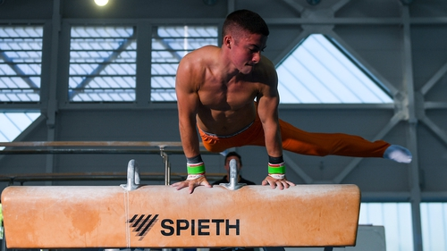 Rhys McClenaghan will represent Ireland in the upcoming European Championship in Basel