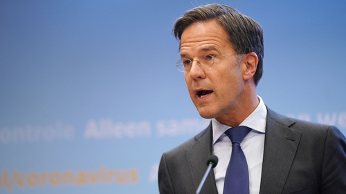 Mark Rutte had opposed the cabinet's resignation