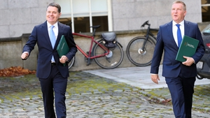 Minister for Finance, Paschal Donohoe and Minister for Public Expenditure and Reform, Michael McGrath