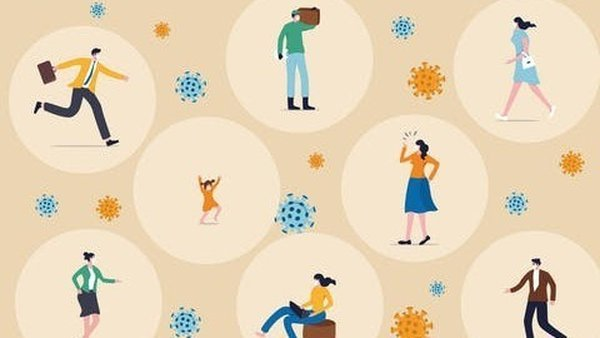 """""""we should be trying to ensure that as many people as possible are protected from Covid-19 infection, not 'learning to live with the virus'."""" Image: Shutterstock/EamesBOT"""