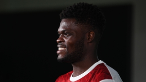 Partey was unveiled by Arsenal on Tuesday