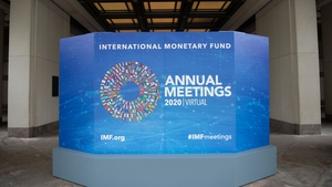 The IMF issues slightly improved growth forecasts spurred by unexpectedly stronger rebounds from coronavirus lockdowns