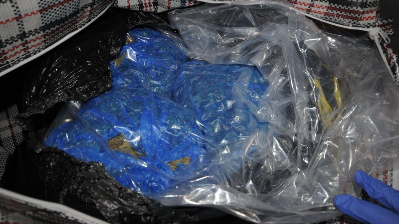 The           cannabis seized in the Ashtown area yesterday (Pic: Garda           Facebook page)