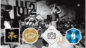 Philately will get you everywhere: U2 at the Dandelion Market in Dublin in the late 1970s