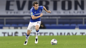 Séamus Coleman has reclaimed his place in the Everton defence this season