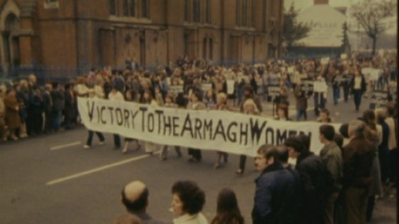 March to support the hunger strikers, Belfast (1980)