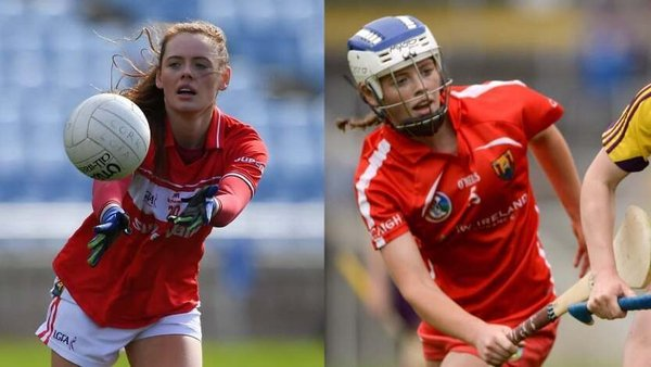 Cork's Meabh Cahalane plays both football and camogie