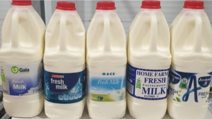 The affected milk has a presence of harmful bacteria
