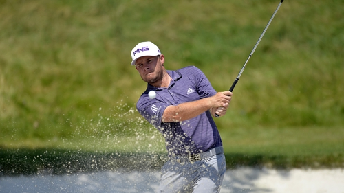 Tyrrell Hatton leads the CJ Cup