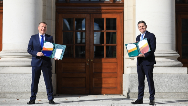 Budget 2021 was delivered on Tuesday by Ministers Michael McGrath and Paschal Donohoe